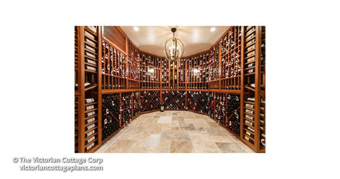 Wine Cellar - 192 sq. ft. - Building Plan Set