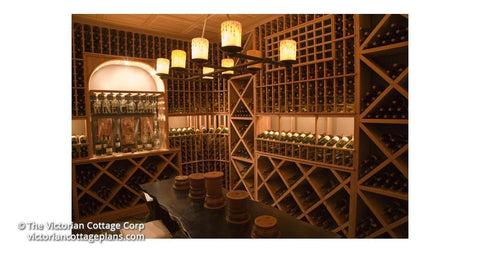Wine Cellar - 120 sq. ft. - Building Plan Kit