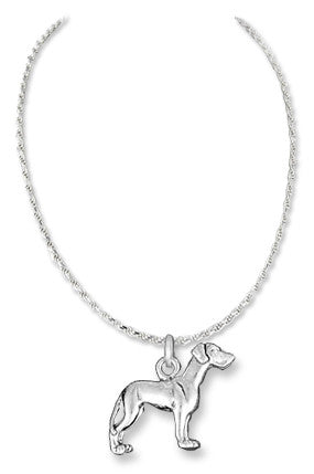 Akita Sterling Silver Necklace