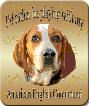 American English Coonhound Mouse Pad