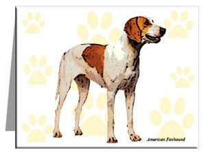 American Foxhound Note Cards