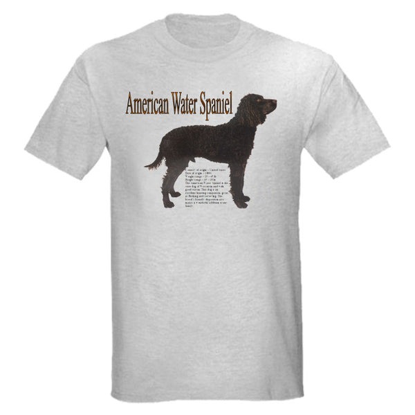 Gray American Water Spaniel T-Shirt