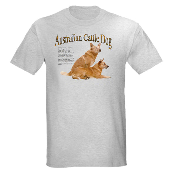 Gray Australian Cattle Dog T-Shirt