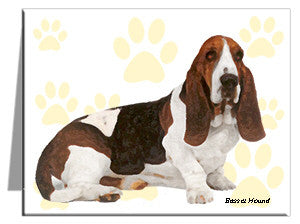 Basset Hound Note Cards