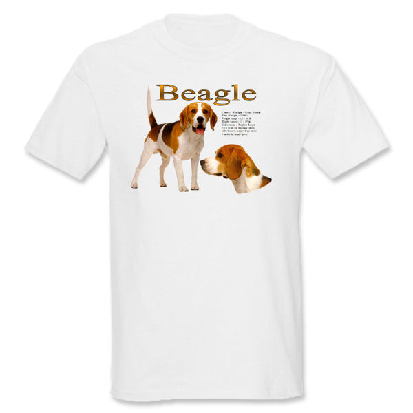White Beagle T-Shirt