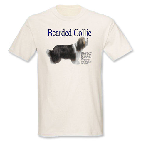 Natural Bearded Collie T-Shirt
