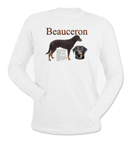 White Beauceron Long Sleeve T-Shirt
