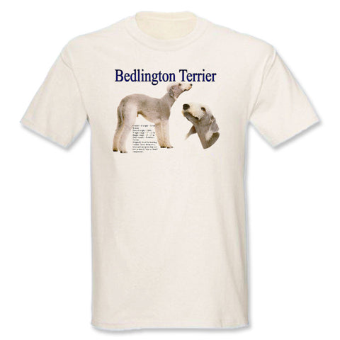 Natural Bedlington Terrier T-Shirt