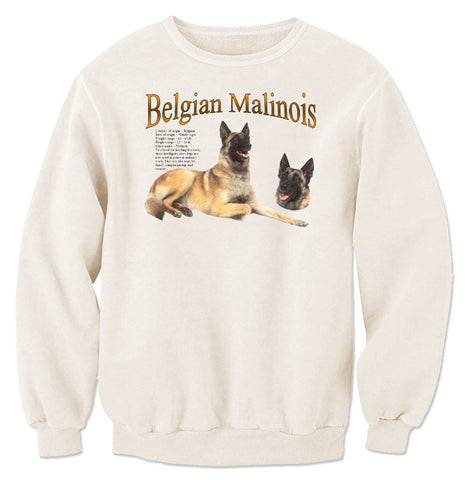Natural Belgian Malinois Sweatshirt