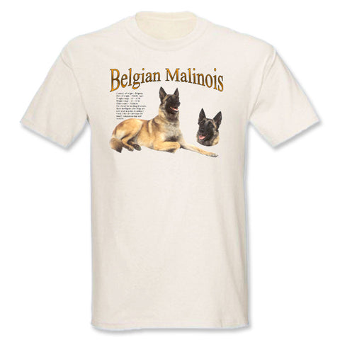 Natural Belgian Malinois T-Shirts