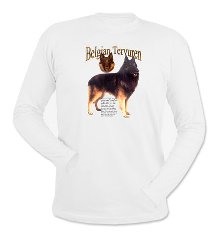 Belgian Tervuren Long Sleeve T-Shirt