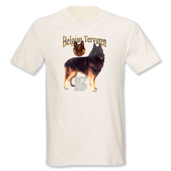 Natural Belgian Tervuren T-Shirt