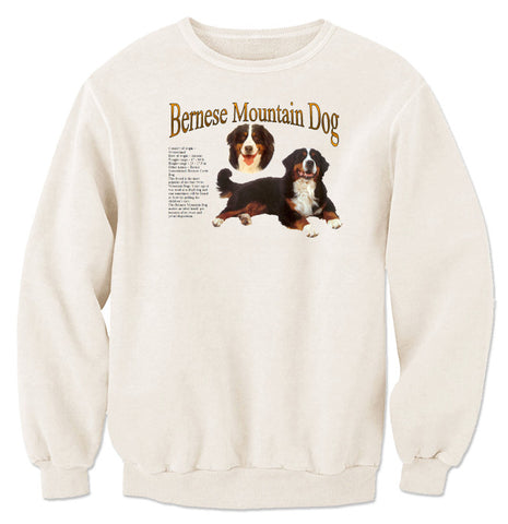 Natural Bernese Mountain Dog Sweatshirt