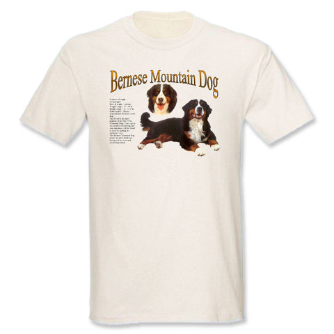 Beige Bernese Mountain Dog T-Shirt