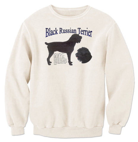 Natural Black Russian Terrier Sweatshirt