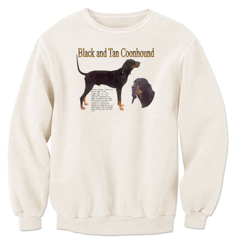Natural Black & Tan Coonhound Sweatshirt