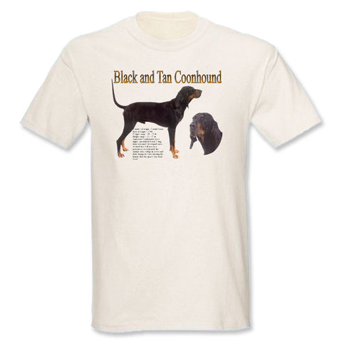 Natural Black & Tan Coonhound T-Shirt
