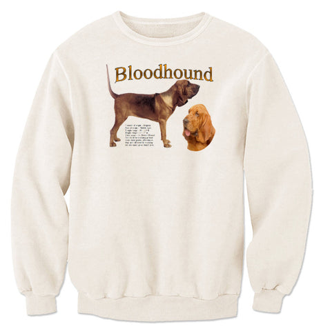 Natural Bloodhound Sweatshirt