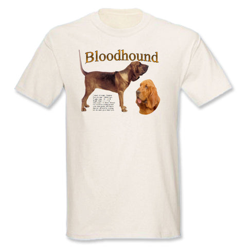 Natural Bloodhound T-Shirt