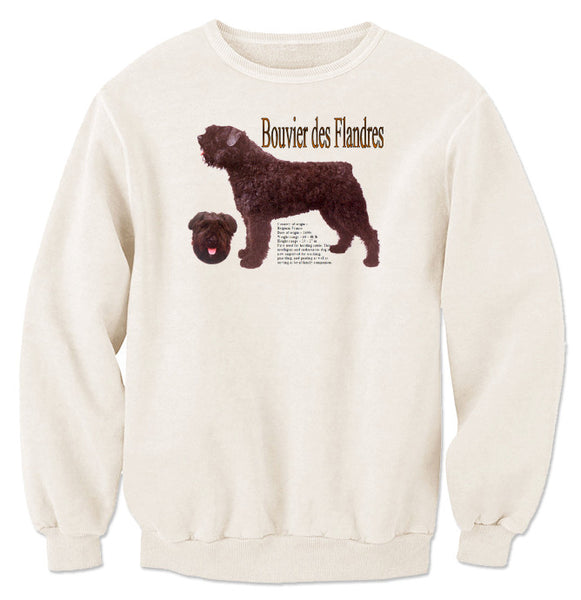 Natural Bouvier des Flandres Sweatshirt
