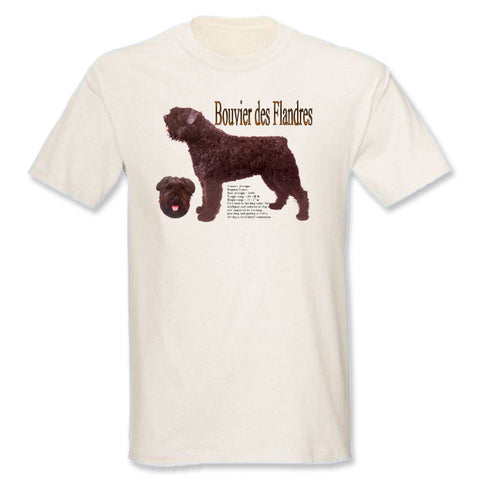 Natural Bouvier des Flandres T-Shirt