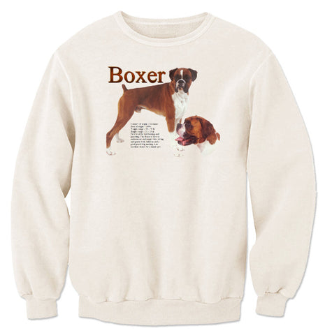 Natural Boxer Sweatshirt