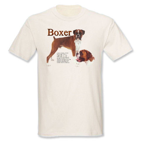 Natural Boxer T-Shirt