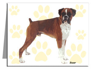 Boxer Note Cards