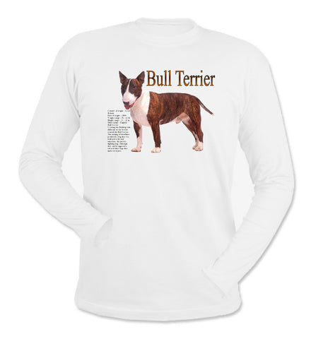 White Bull Terrier Long Sleeve T-Shirt