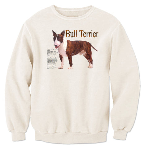 Natural Bull Terrier Sweatshirt