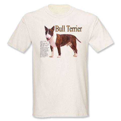 Natural Bull Terrier T-Shirt