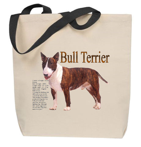 Bull Terrier Tote Bag