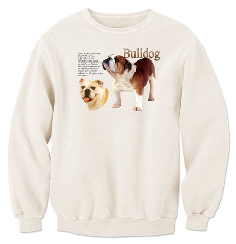 Natural Bulldog Sweatshirt