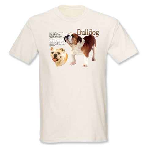 Natural Bulldog T-Shirt