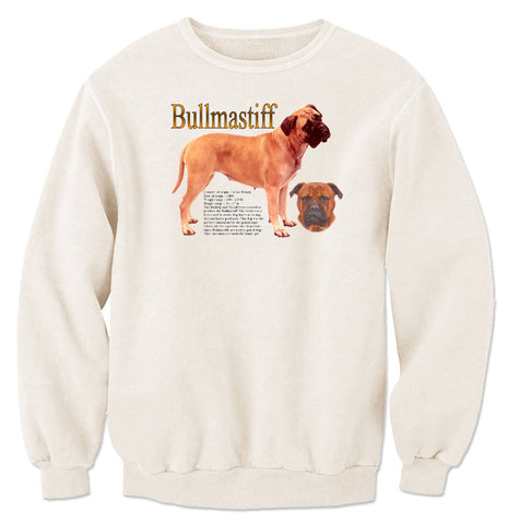 Natural Bullmastiff Sweatshirt