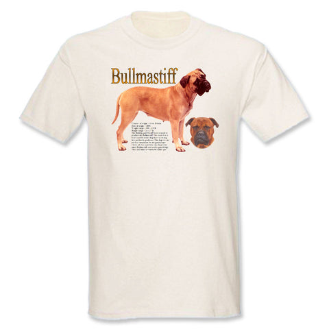 Natural Bullmastiff T-Shirt