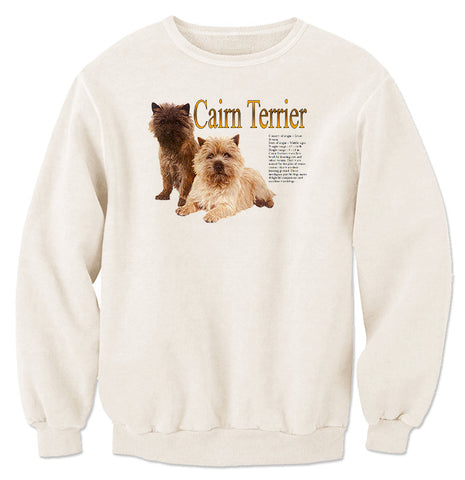 Natural Cairn Terrier Sweatshirt