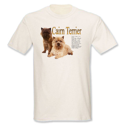 Natural Cairn Terrier T-Shirt