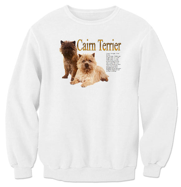 White Cairn Terrier Sweatshirt