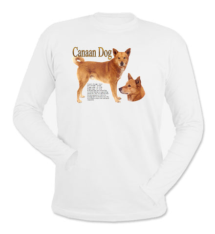 White Canaan Dog Long Sleeve T-Shirt