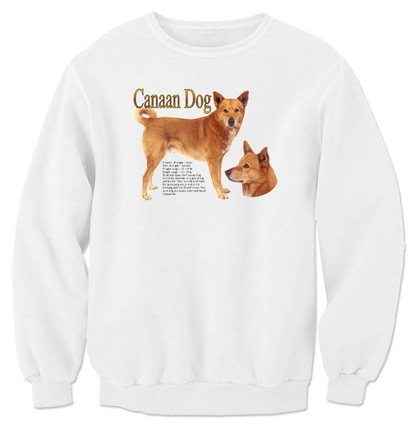 White Canaan Dog Sweatshirt