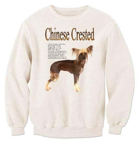 Natural Chinese Crested Sweatshirt