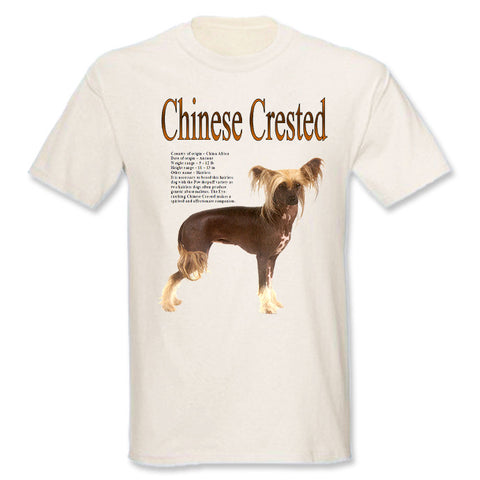 Natural Chinese Crested T-Shirt
