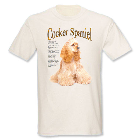 Natural Cocker Spaniel T-Shirt