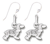 Cocker Spaniel Sterling Silver Earrings