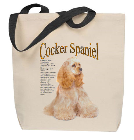 I'd Rather Be Playing With My Cocker Spaniel Tote Bag