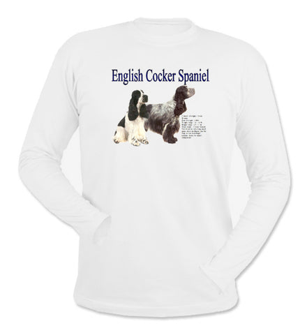 English Cocker Spaniel Long Sleeve T-Shirt