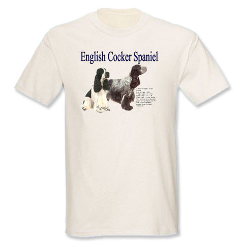 Natural English Cocker Spaniel T-Shirt
