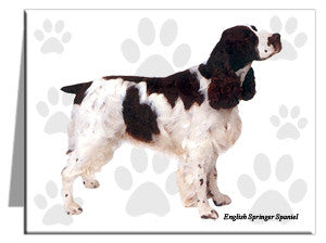English Springer Spaniel Note Cards