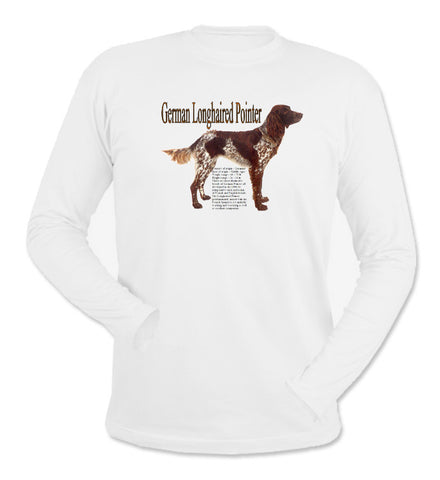 White German Longhaired Pointer Long Sleeve T-Shirt